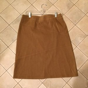 Tribal stretch microfiber skirt